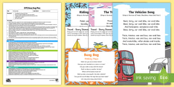 EYFS Making Maps Busy Bag Plan and Resource Pack - Transport and Travel, maps, journeys, mark making, story stones