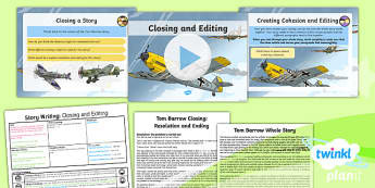 PlanIt Y5 World War II: Battle of Britain Lesson Pack Story Writing (5)