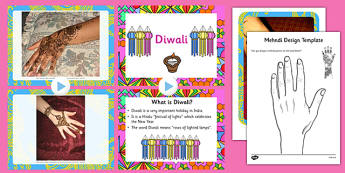 Diwali Mehndi Patterns Resource Pack - diwali, mehndi, patterns, resource, pack