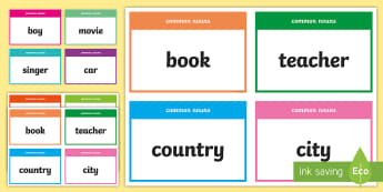 Common and Proper Nouns Activity - CfE Literacy, common nouns, proper nouns, LIT,Scottish