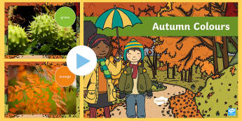 Autumn Colours Photo PowerPoint - powerpoint, photo powerpoint, autumn photo powerpoint, photo, colours, autumn colours, discussion starters, autumn photo