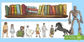 Book Corner Bookshelves Display Pack - Book Corner Bookshelves Display Pack - book corner, bookshelves, display pack, display, pack, cosy