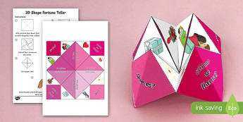 Valentine's Day Fortune Fan - Valentines Day, 14th February, fortune, teller