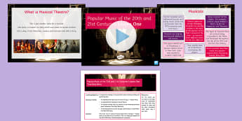 Popular Music of the 20th and 21st Centuries: Lesson 1 - GCSE Music, KS4, Secondary, Contextual understanding, Listening