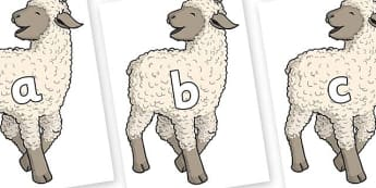 Phase 2 Phonemes on Lamb - Phonemes, phoneme, Phase 2, Phase two, Foundation, Literacy, Letters and Sounds, DfES, display