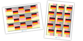 German Display Borders - German, Germany, display border, classroom border, border, MFL, Modern Foreign Languages, foundation, languages, display