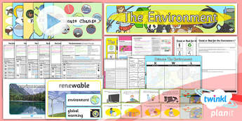 PlanIt - Science Year 2 - The Environment Unit Pack - planit, science, year 2, unit, pack
