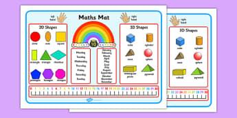 KS1 Maths Mat - ks1, key stage 1, maths, mat, maths mat, word mat, word