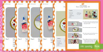 Diva Lamp Holders CD Craft Instructions - Diva lamp holder, cd, craft, Diwali, Hinduism