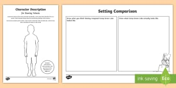 Year 5 & 6 Chapter Chat Chapters 1 to 7 Activity Pack - New Zealand Chapter Chat, Chapter Chat NZ, Chapter Chat,Australia, holes, louis sachar, free, charac