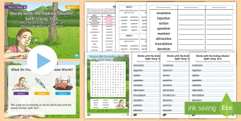 Year 4 Term 1B Week 3 Spelling Pack - Spelling Lists, Word Lists, Autumn Term, List Pack, SPaG