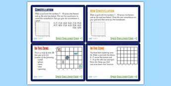 Space Themed Maths Challenge Cards KS2 - space, maths, KS2 maths