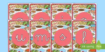 Tarjetas de fonemas: La comida - comer sano, comida sana, comer saludable, comida saludable, fruta, verdura, dieta saludable, dieta s