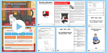 Year 4 Term 2 Fiction Reading Assessment Guided Lesson Teaching Pack - kS2, reading, read, assessment, guided, guidance, assess, powerpoint,