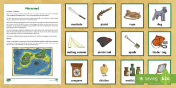 Marooned Game - Pirates, pirate ships, marooned, game, international talk like a pirate day, sound stories, sound st
