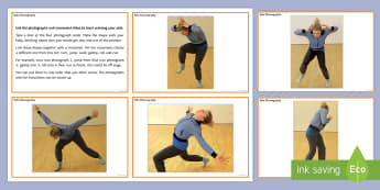 Solo Choreography Activity Cards - dance solo, motif, creative dance, KS3 Dance, KS4 Dance, choreography