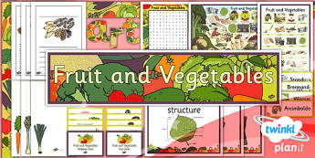 Art: Fruit and Vegetables LKS2 Unit Additional Resources