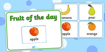 Fruit of the Day Sign - fruit, day, sign, display, fruit display