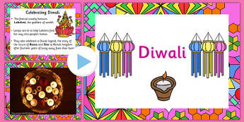 EYFS All About Diwali Video PowerPoint - early years, festivals, hinduism, hindu