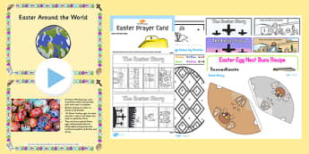 Home Educator Easter Resource Pack - easter, resource, pack
