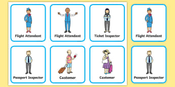 Airport Role Play Badges - airport, role play, badges, badge