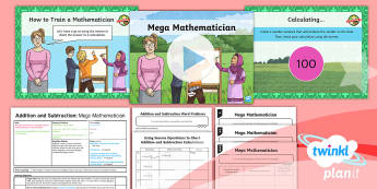 PlanIt Y3 Addition and Subtraction Lesson Pack Checking (2) - Addition and Subtraction, opposite, inverse, reverses, calculation, operation, take, take-away, less