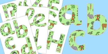Herbivore Themed Display Lettering - herbivore, display, lettering, science