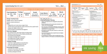 New Zealand Orange Guided Reading Weekly Plan - Literacy, Reading, Orange, Colour Wheel, Guided Reading, Planning