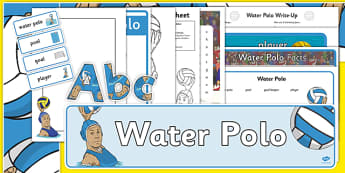The Olympics Water Polo Resource Pack - Water Polo, Olympics, Olympic Games, sports, Olympic, London, 2012, resource pack, pack resources, activity, Olympic torch, events, flag, countries, medal, Olympic Rings, mascots, flame, compete