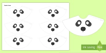 Panda Cone People - Quiet Critter Cones - quiet, critter, cones, noise control, behaviour