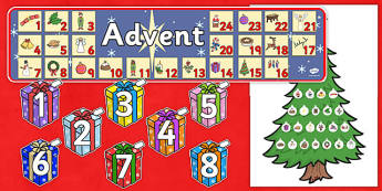 Ready Made Advent Display Pack - ready made, advent, display