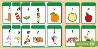 India Specific Phase 2 Phonics Flashcards - new zealand, india phonics, phoncis, phonics, phase 2, satpin, initial sounds, india, india specific