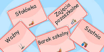 Polish School Room Signs - polish, school room, signs, school