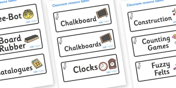 Cygnet Themed Editable Additional Classroom Resource Labels - Themed Label template, Resource Label, Name Labels, Editable Labels, Drawer Labels, KS1 Labels, Foundation Labels, Foundation Stage Labels, Teaching Labels, Resource Labels, Tray Labels, P