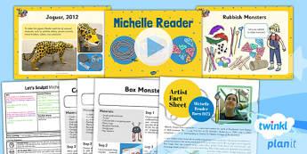 Art: Let's Sculpt: Michelle Reader KS1 Lesson Pack 2