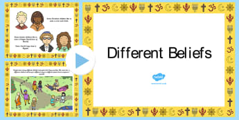 Different Religions PowerPoint - religion, religions, belief, multi