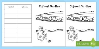 Cofnod Darllen - Darllen, Cofnod Darllen, CAL,  Llythrennedd, Llyfr,Welsh-translation
