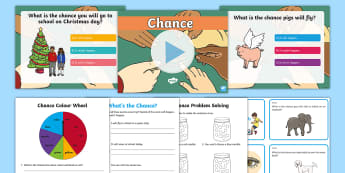 Year 1 Chance Resource Pack - Australian Curriculum Statistics and Probability, chances, probability,