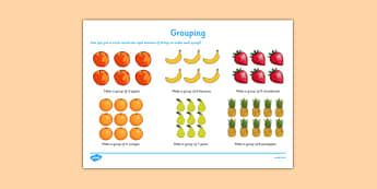 Grouping Activity Sheet - CfE, numeracy, grouping, group, activity, scottish, curriculum, early, maths, assess, assessment, fractions, excellence, scotland, worksheet
