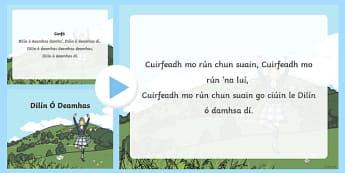 Dilín Ó Damhsa Song PowerPoint