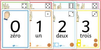 Affiches : Les nombres de 1 à 20 - numération, frise numérique, quantités, compter, to count, nombre, number, math, mathématiques, cycle 1, cycle 2, KS1