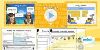 PlanIt Y3 Number and Place Value Lesson Pack Compare and Order Numbers (2) -  problem solving,more than, less than, greater than,  maths mastery, year 3, fun maths, hundreds, te