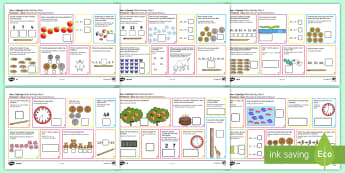 Year 1 Spring 1 Maths Activity Mats English/Romanian - Year 1, maths, activity mats, questions, answers, read, reason, predict, find, total, equals, add, a