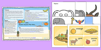 Lesson Plan Ideas EYFS to Support Teaching on Handa's Surprise - lessons, planning