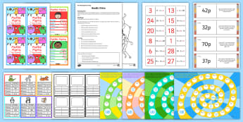Kids Maths Games - KS2, Maths, multiplication, division, addition, subtraction, loop cards, money problems, algebra, me