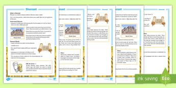 KS2 Shavuot Differentiated Fact File - Shavuot, (30.5.17), KS2, religious education, RE, Judaism, fact file, religious festival, non fictio
