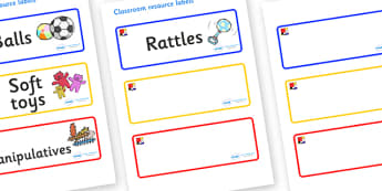 Mondrian Themed Editable Additional Resource Labels - Themed Label template, Resource Label, Name Labels, Editable Labels, Drawer Labels, KS1 Labels, Foundation Labels, Foundation Stage Labels, Teaching Labels, Resource Labels, Tray Labels, Printable
