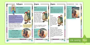 Refugees Fact File - Refugee, Refugees, Refugee Week, Somalia, Africa, Afghanistan, World War Two, Flee, Fled, Unsafe, Wa