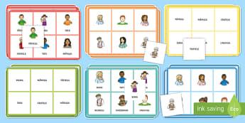 Membrii de familie Bingo - Familia, dezvoltare personală, dezvoltare socială, relații, totul despre mine,
