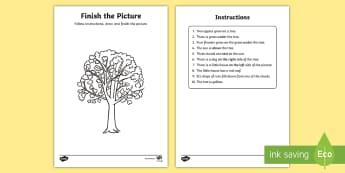 NI KS1 Numeracy Instructions Activity Sheet - NI KS1 Numeracy, instructions, maths play activity, worksheet